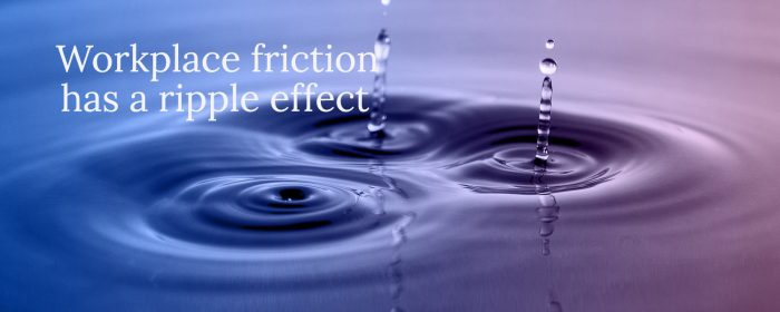 Workplace conflict has a ripple effect